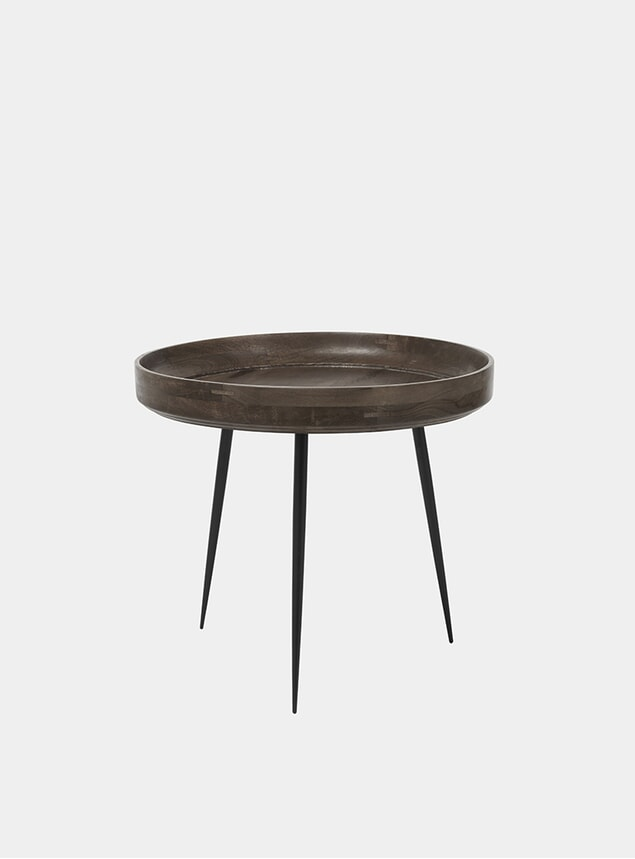 L Sirka Grey Bowl Table