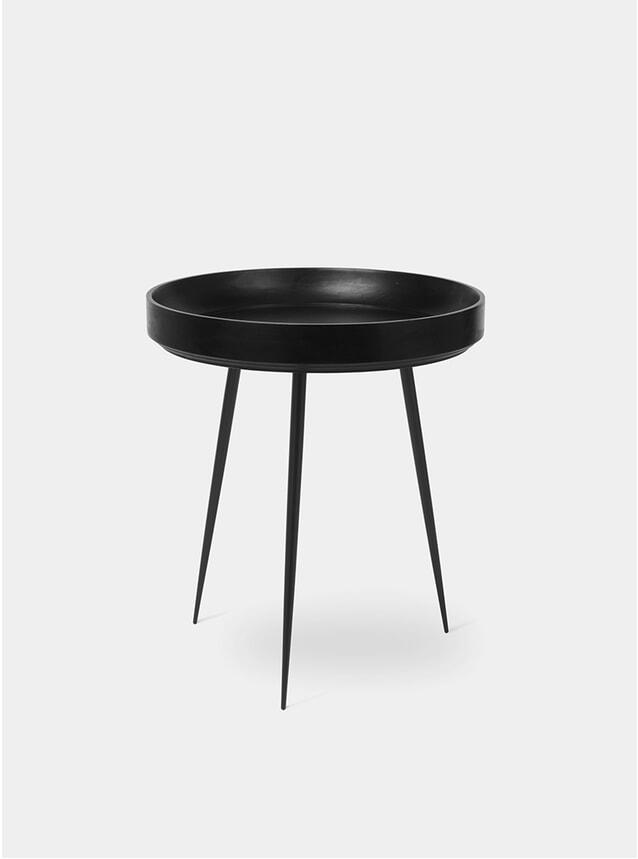 M Black Bowl Table