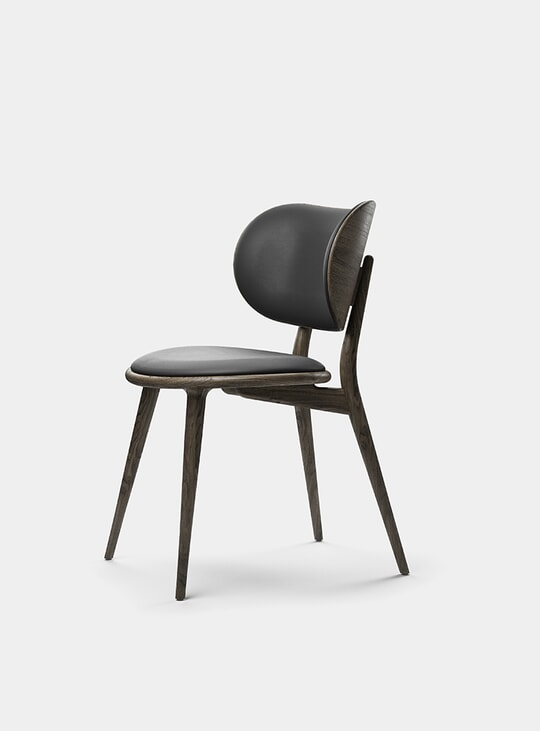 Sirka Grey Stained Oak Dining Chair
