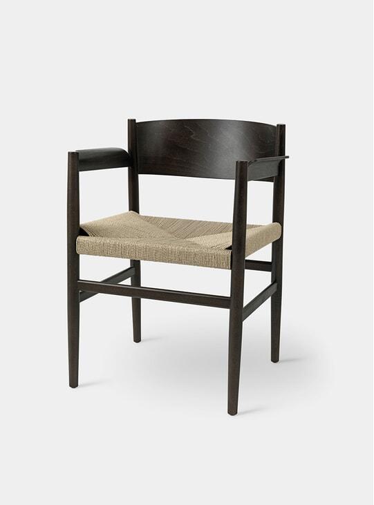 Sirkey Grey Beech / Paper Cord Chair