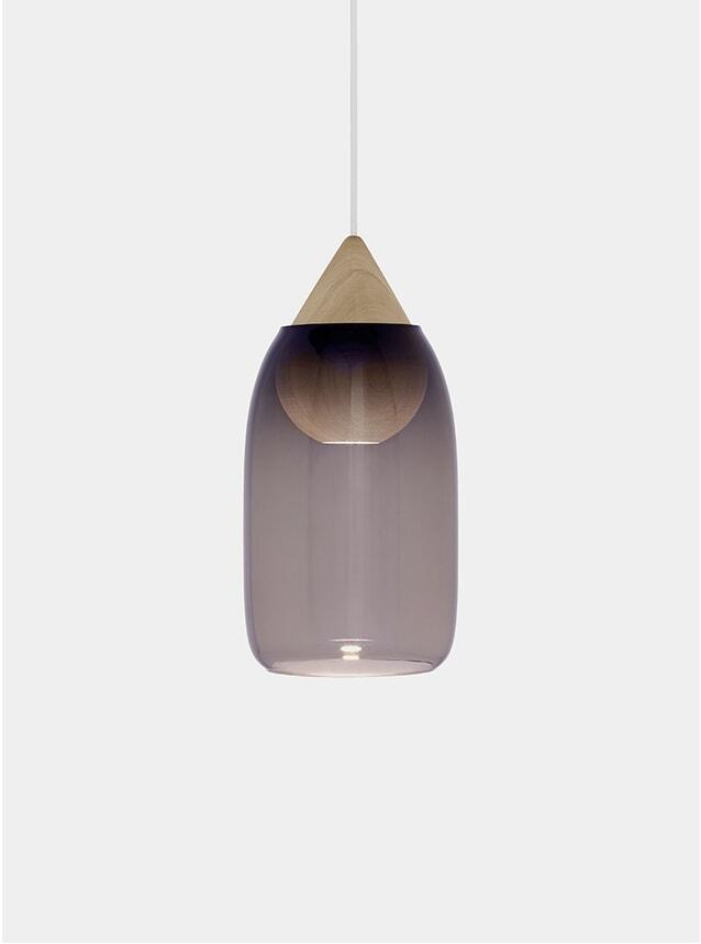 Violet / Linden Oak Liuku Ball Pendant Lamp