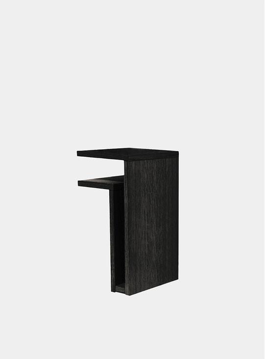 Black Left F-Shelf