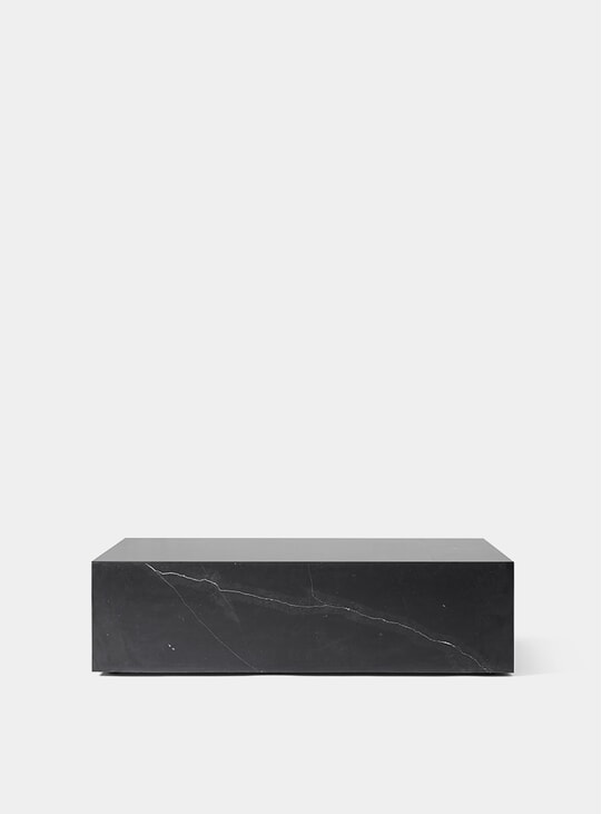 Black Plinth Low