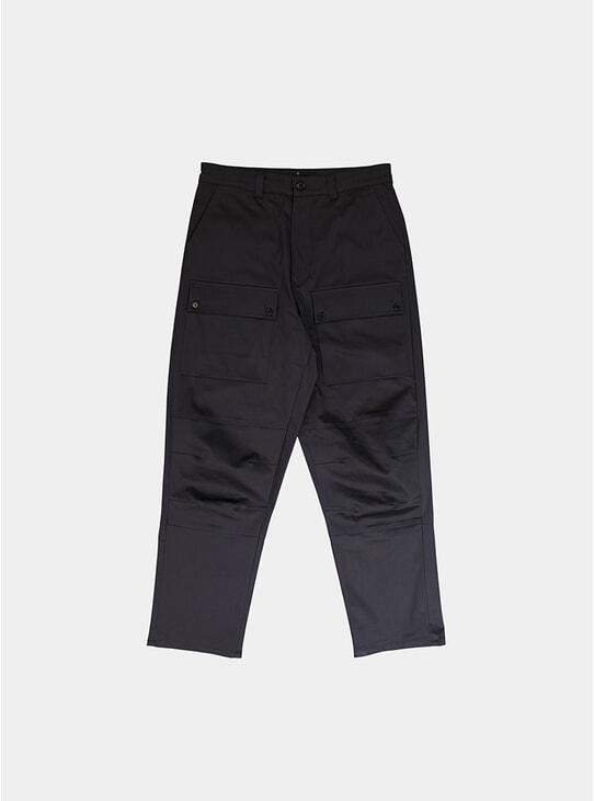 Dark Grey Industry Trousers
