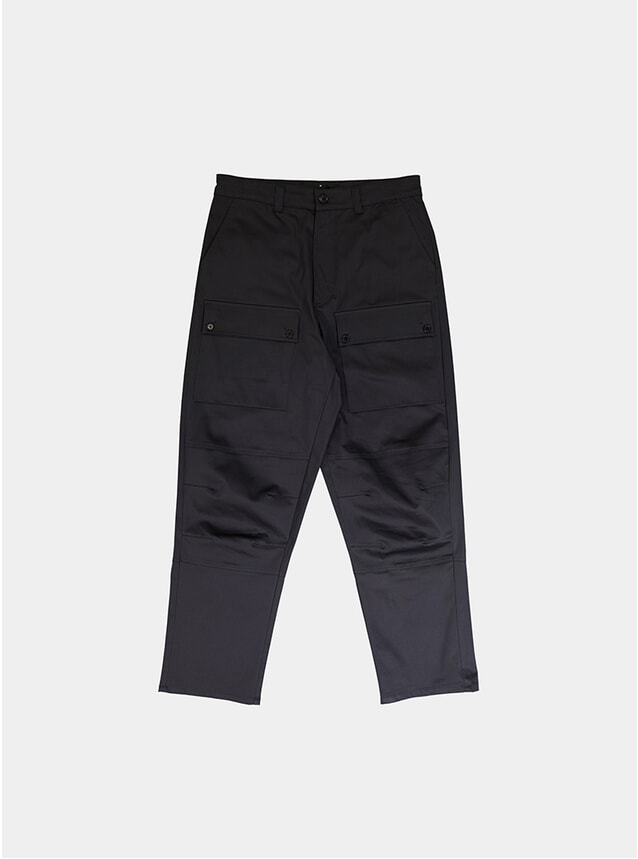 Dark Grey Industry Trousers