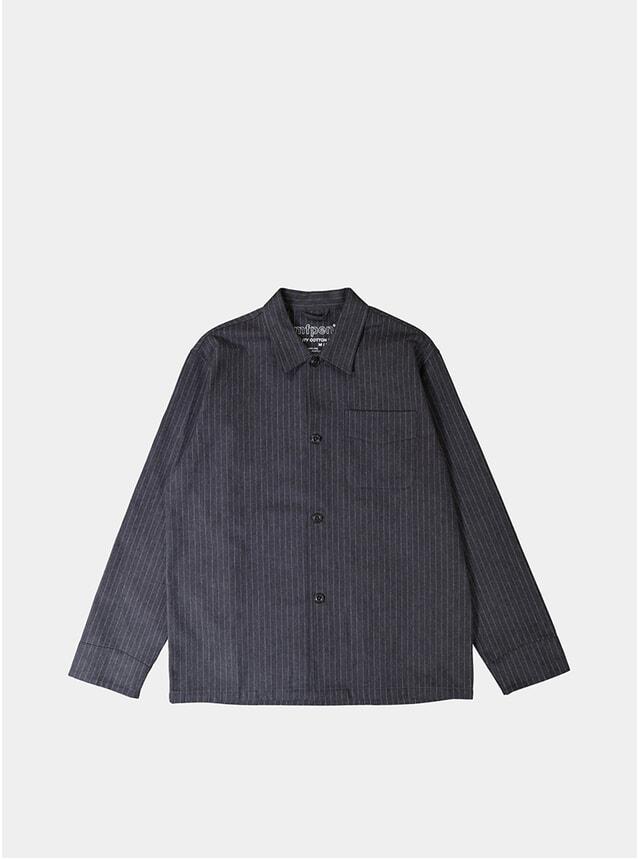 Dark Grey Type Overshirt