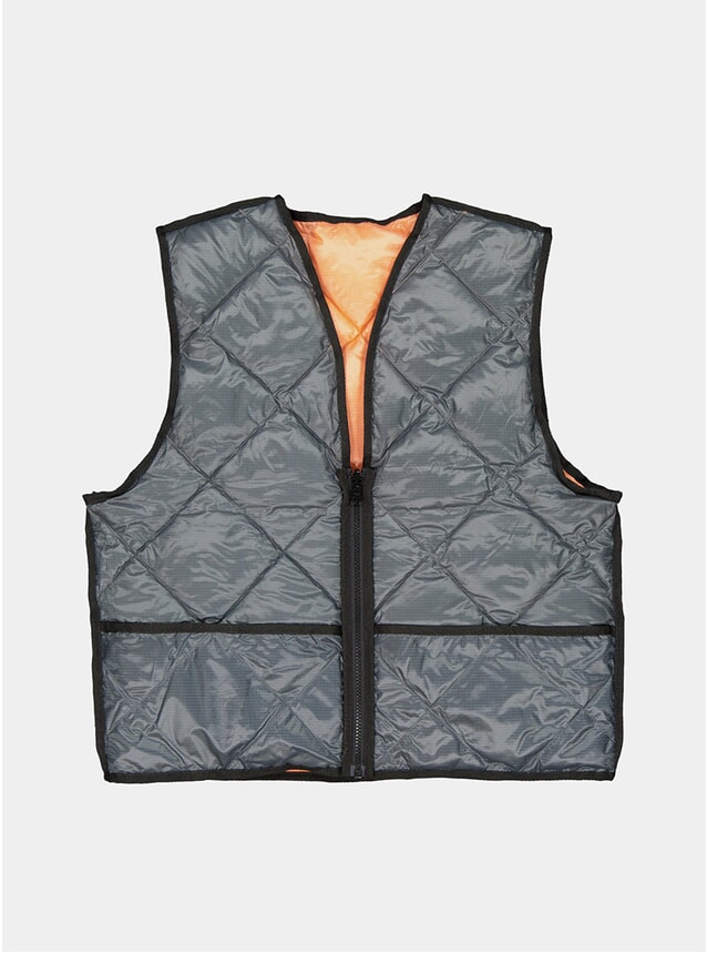 Grey / Light Pink Studio Vest