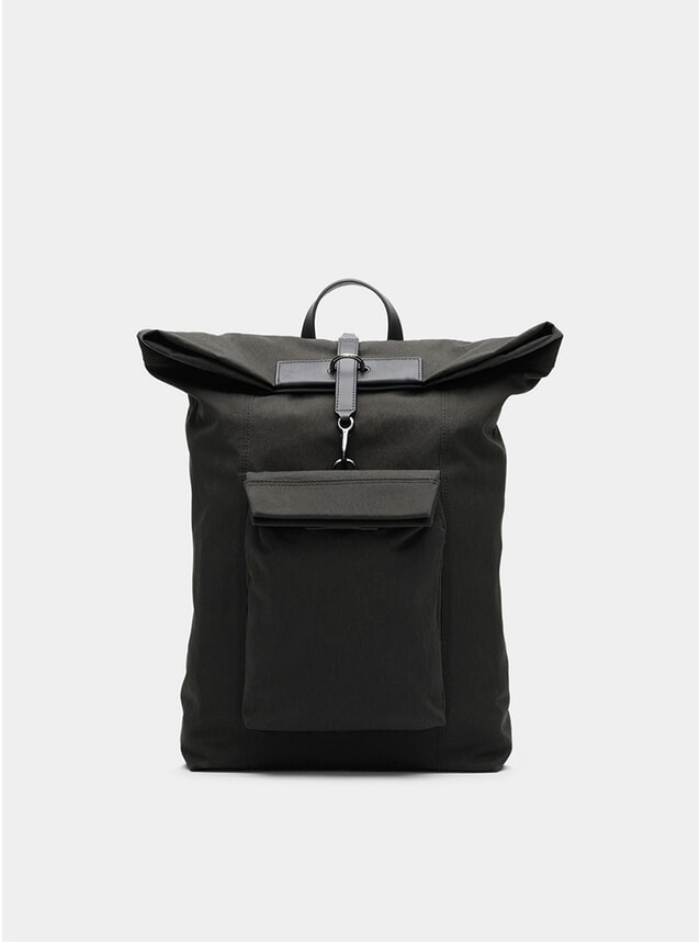 Charcoal / Black M/S Escape Backpack