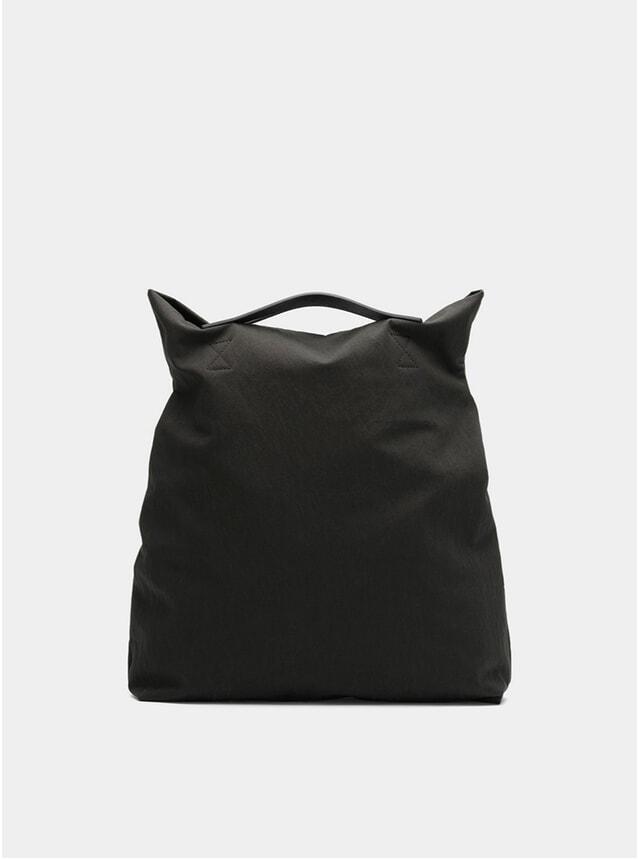 Charcoal / Black M/S Flair Tote Bag