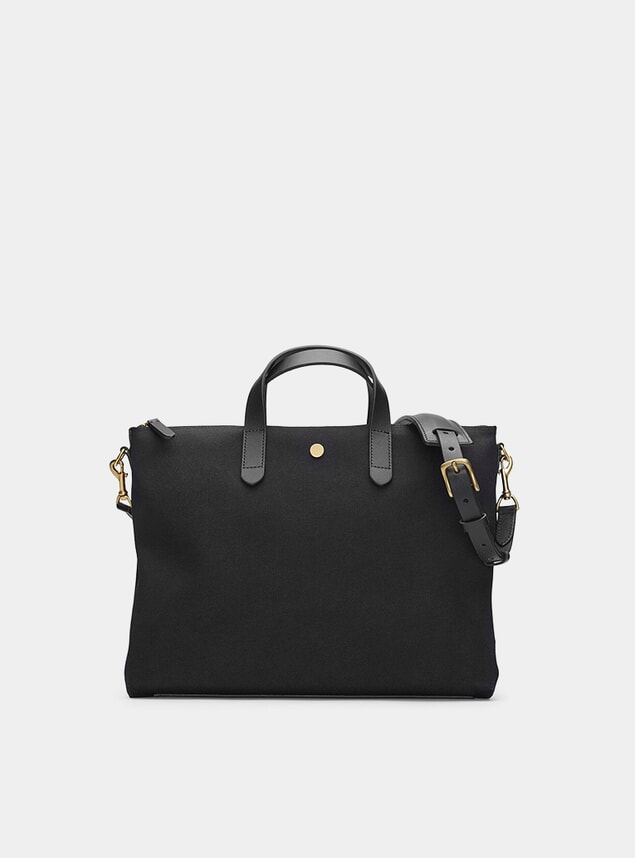 Coal / Black M/S Brief Bag