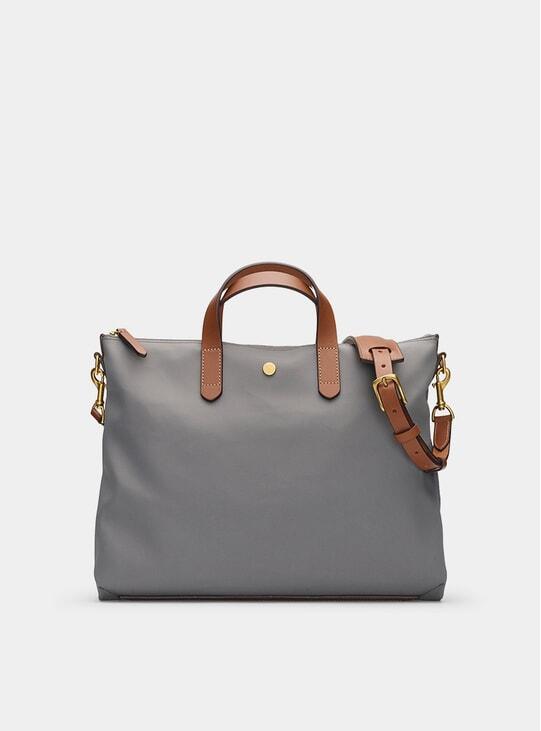 Concrete / Cuoio M/S Brief Bag