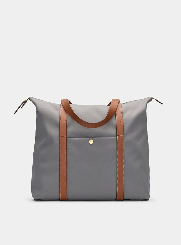 Concrete / Cuoio M/S Shuttle Bag