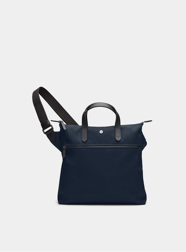 Deep Blue / Black M/S Goods Bag