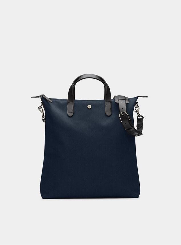 Deep Blue / Black M/S Shopper Bag