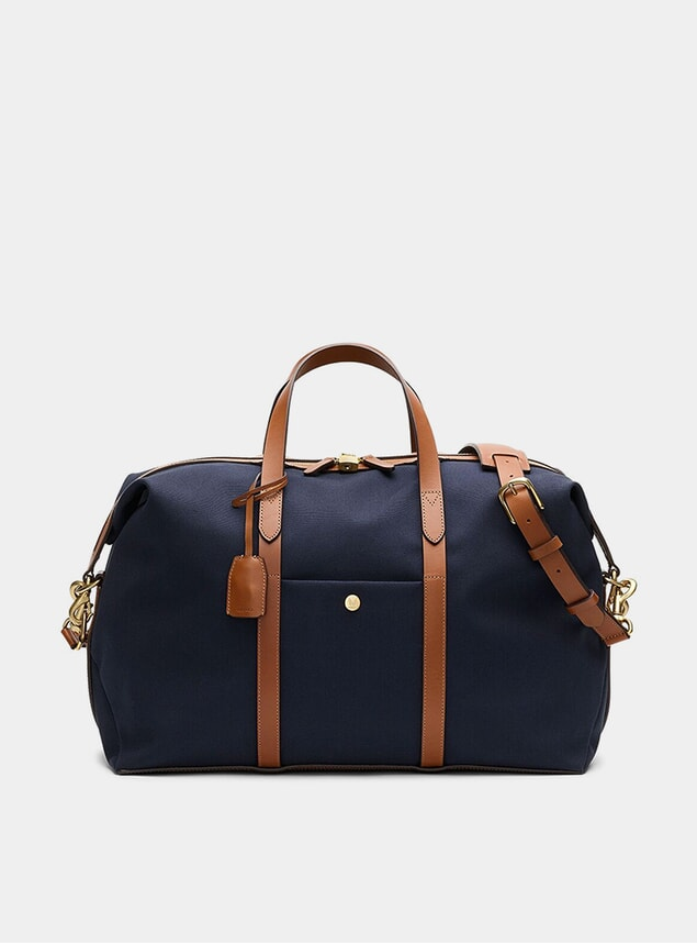 Midnight Blue / Cuoio M/S Avail Weekend Bag