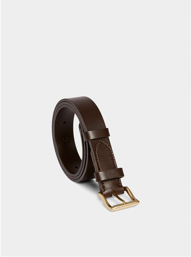 Dark Brown Classic Belt