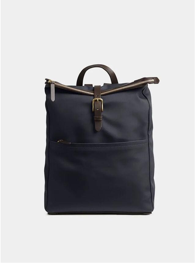 Navy / Dark Brown M/S Express Backpack