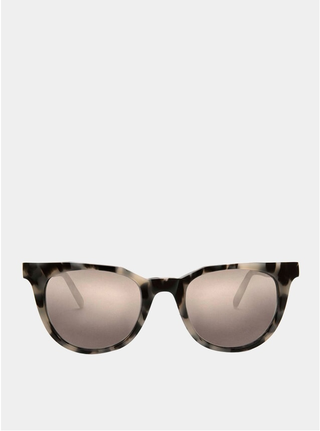 White Tortoise / Mirror Sodermalm Sunglasses