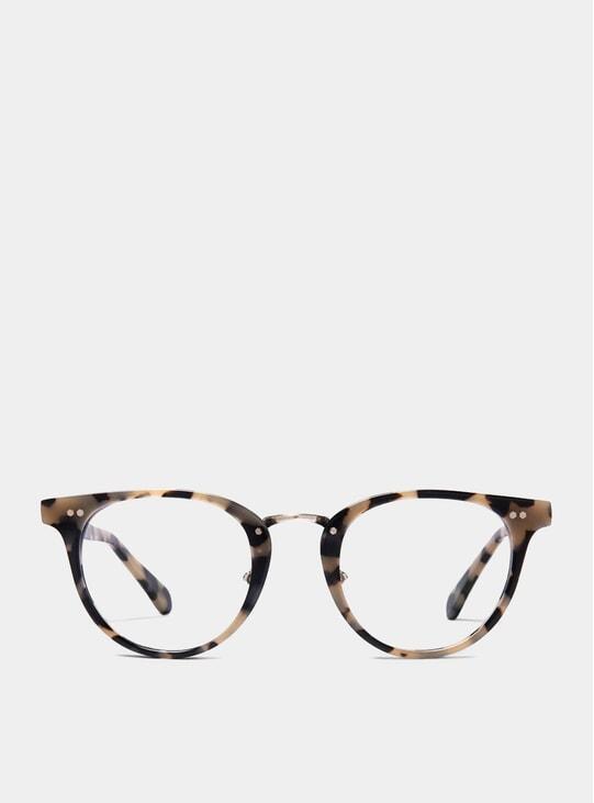 White Tortoise Monti Spectacles