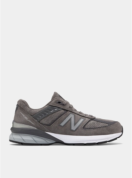 Castle Rock / Magnet & White 990 Sneakers