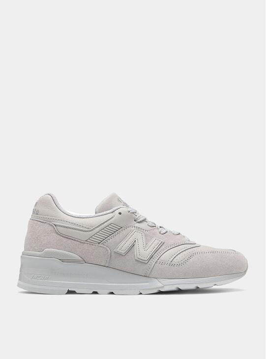 Grey 997 Sneakers