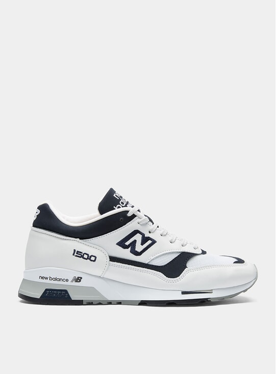 White / Navy 1500 Sneakers