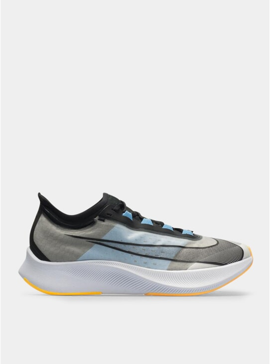 White / University Blue Zoom Fly 3 Sneakers