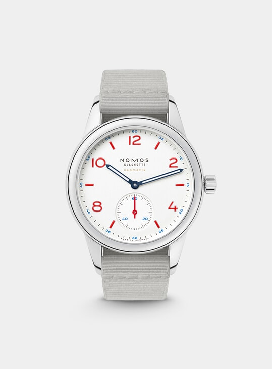 744 Club Neomatik Siren White Watch