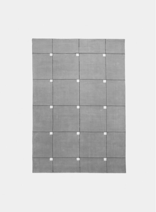 Grey Modern Rug