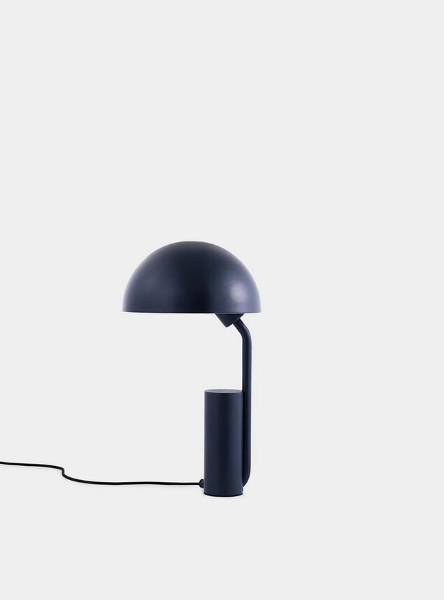 Midnight Blue Cap Table Lamp