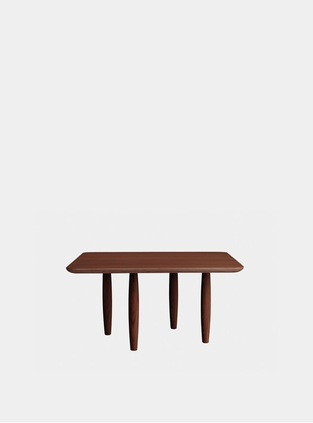 Dark Stained Oku Coffee Table