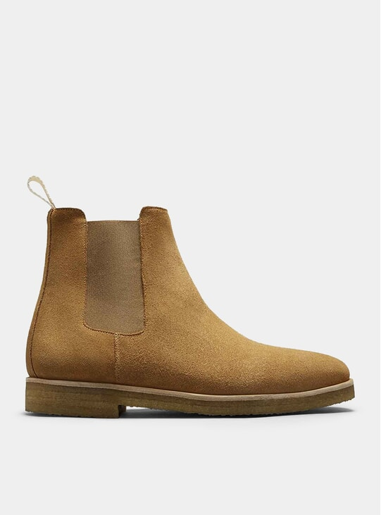 Cappuccino Chelsea Boots