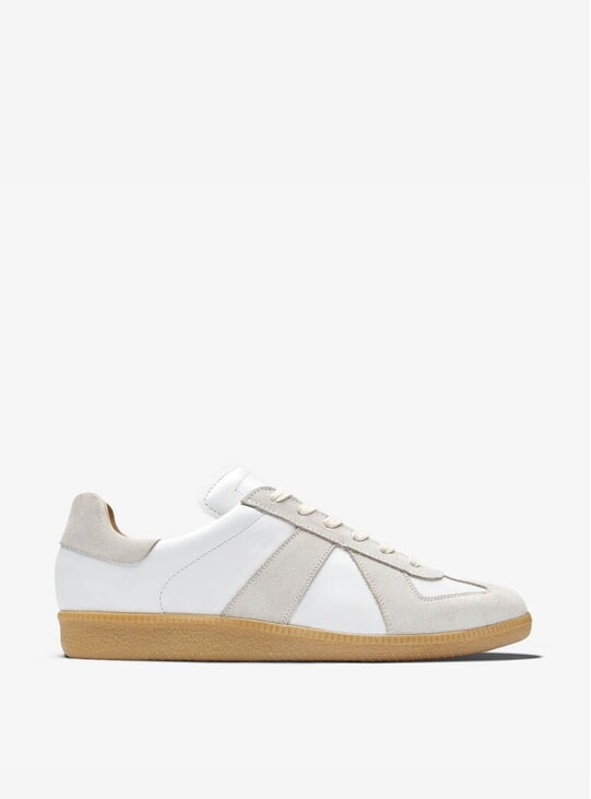 White GAT Sneakers
