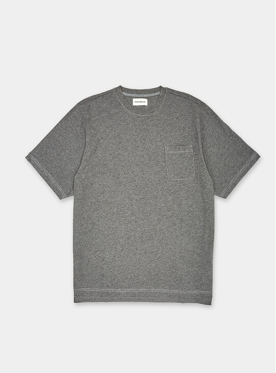 Dark Grey Warren Box T Shirt