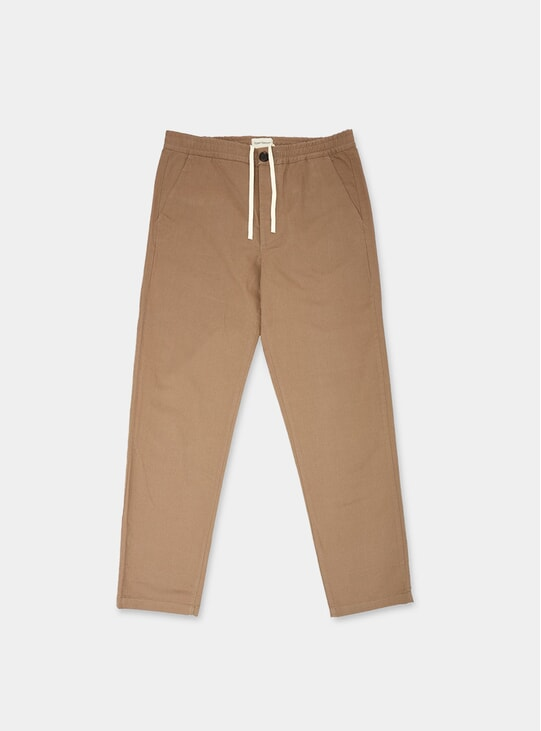 Tobacco Eden Drawstring Trousers