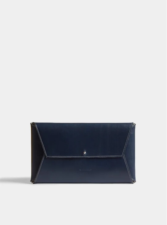 Navy / Grey 265mm Jewellery Wallet