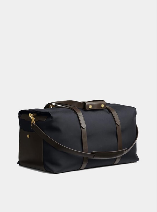 Navy / Dark Brown M/S Supply Bag