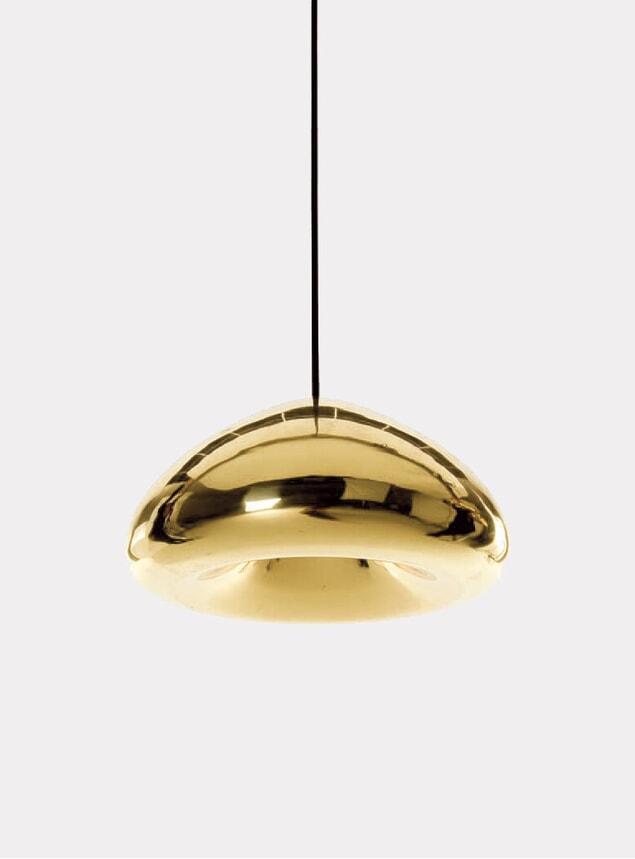 Brass Void Pendant Lamp