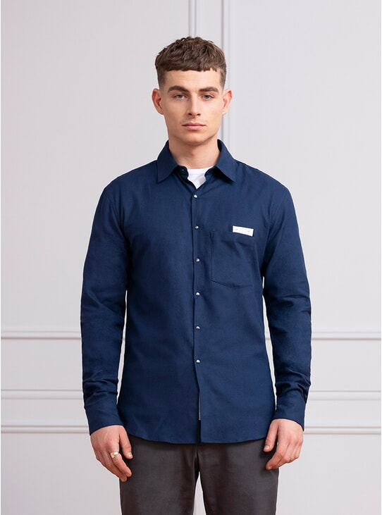 Navy All Day Shirt