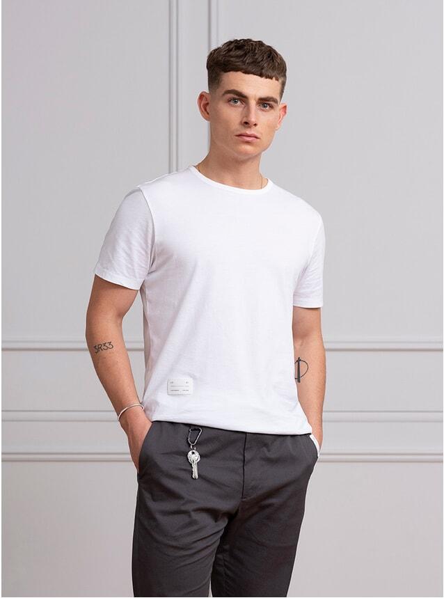 White Tailored T Shirt