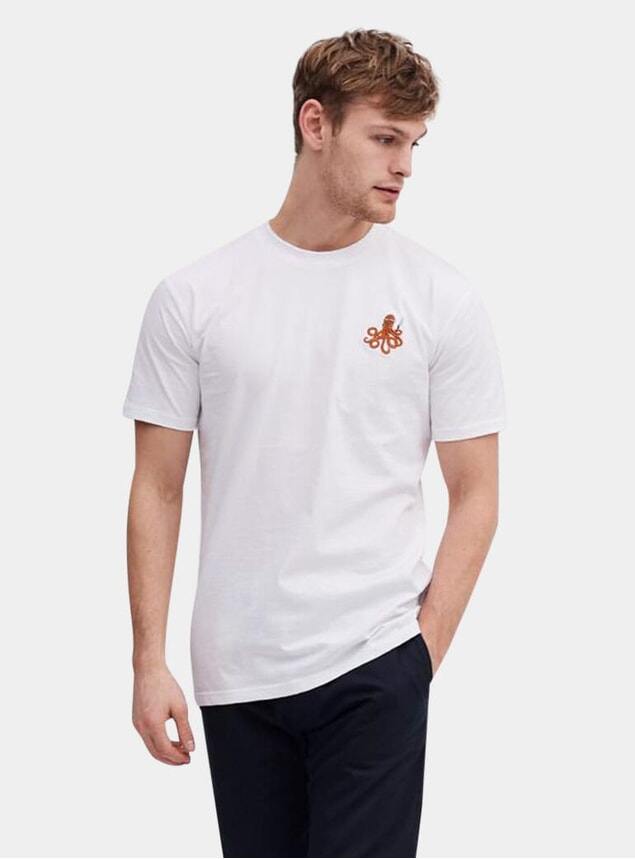 White Octopus Itamae T Shirt