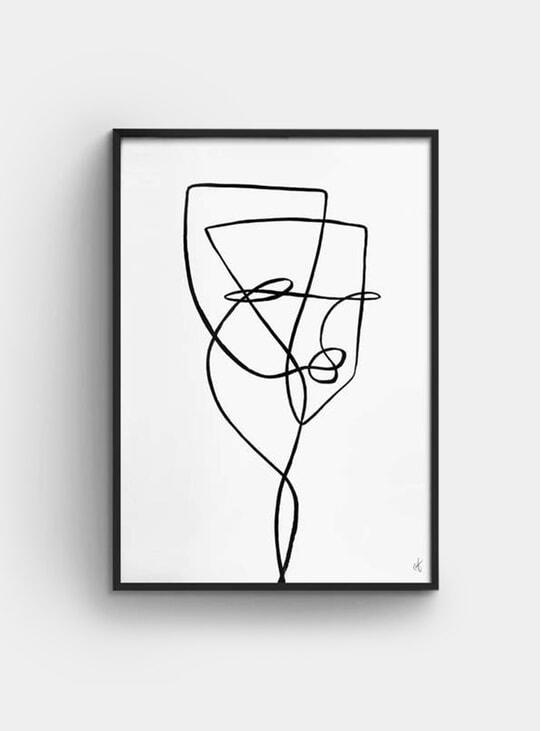 Tulipose Print
