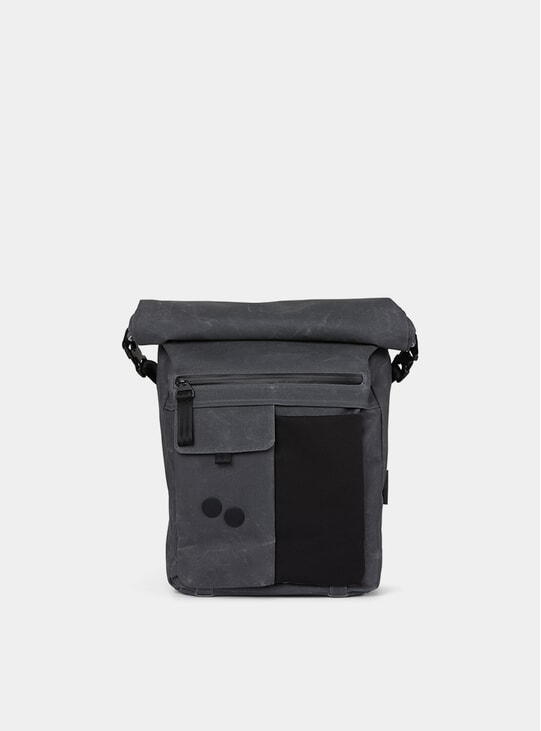Coated Anthracite Carrik Backpack