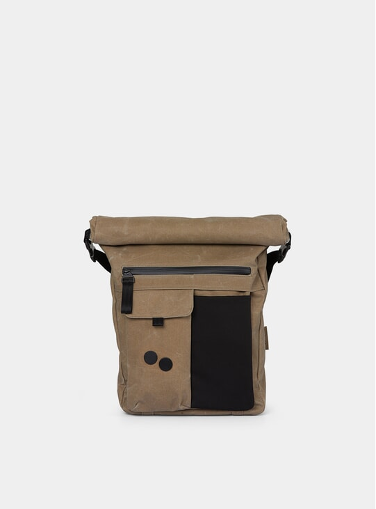 Coated Khaki Carrik Backpack