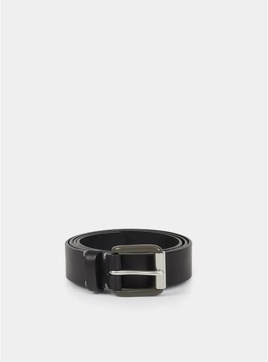 Pitch Black / Pewter Modernist Exposed Belt