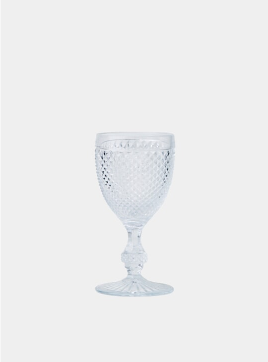 Clear Red Wine Goblet Set
