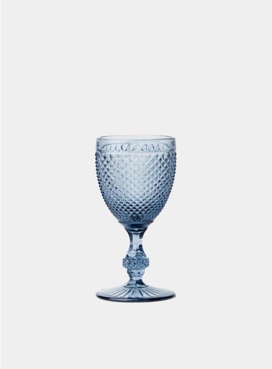 Grey Red Wine Goblet Set