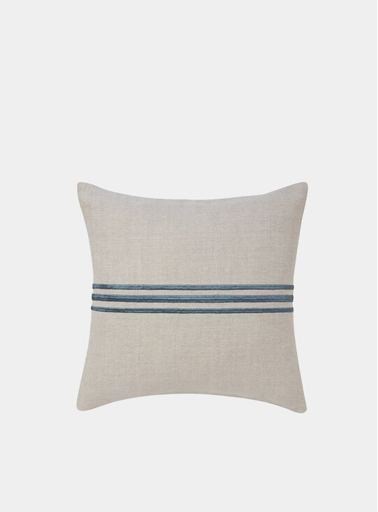 Soft Blue Linden Cushion