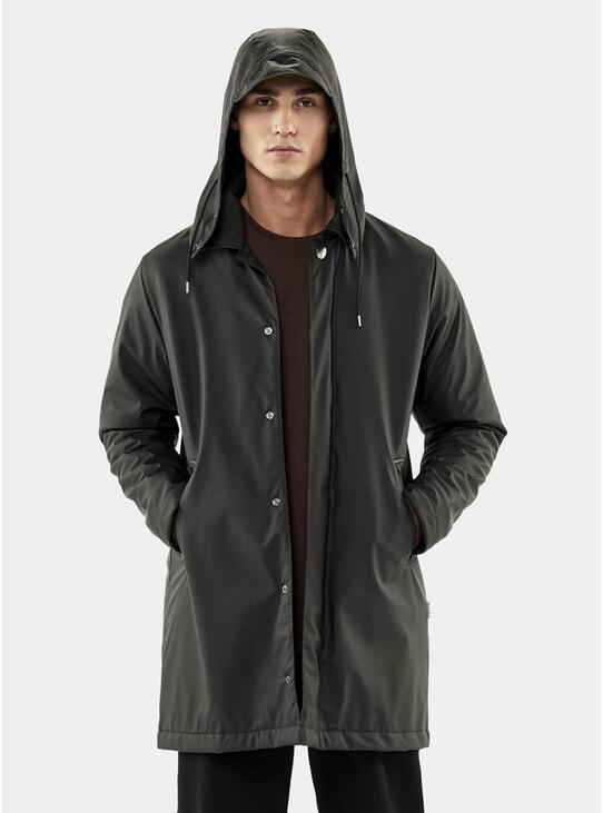 Black Mac Coat