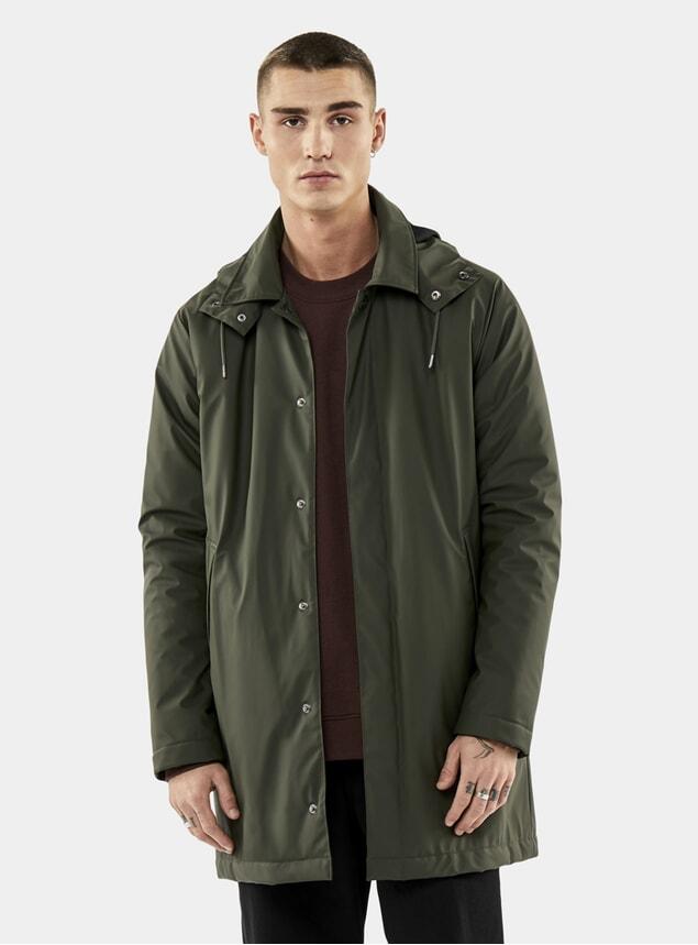 Green Mac Coat